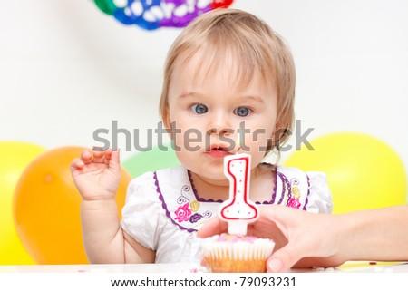 Celebrating first birthday