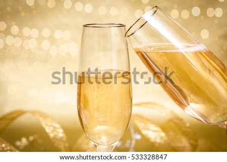 Celebration Champagne Background #533328847