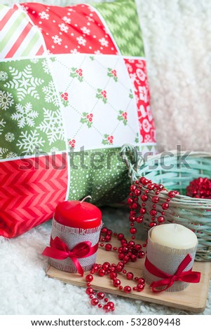 celebration of life decorations, christmas decorations garland,   celebration around the world celebration of life decorations, christmas decorations garland,   Home holiday, cozy house,   happy day, #532809448