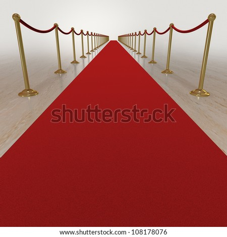 Celebrity red carpet treatment for VIPs