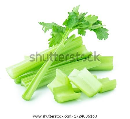 celery isolated on white backgroud ,vegetable Photo stock ©