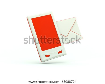 cell phone icon. stock photo : Cell phone icon.