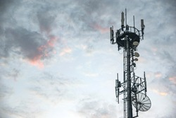 Cell phone signal base station