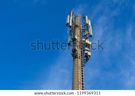 Cell tower, cellular communication, cellular data transmission technology, mobile Internet, cellular data. security of private correspondence.  #1199369311