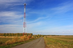 Cell Tower in the field