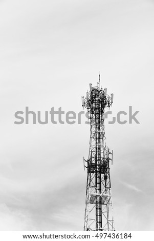 cellphone station  in back and white color