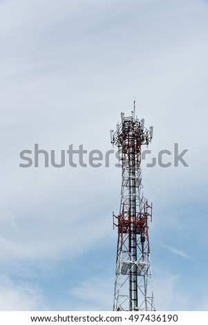 cellphone station tower