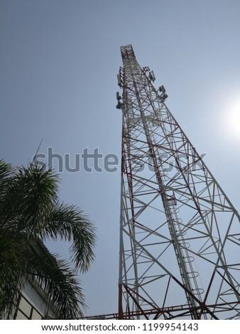 Cellular Tower 4G #1199954143
