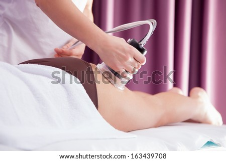 Cellulite beauty treatment