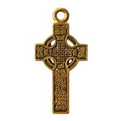 Celtic cross isolated on white background