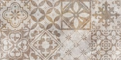 Cement and Concrete Stone mosaic tile. Cement background. cement marble texture background.