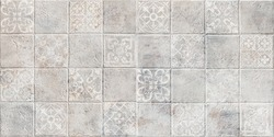 Cement and Concrete Stone mosaic tile. Cement background. texture background.