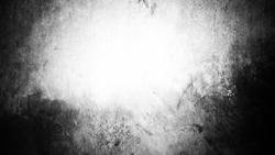 Cement concrete texture. Use as a background or wallpaper. Space for text. Black and white, so contrast and grainy