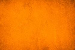 Cement orange wall background