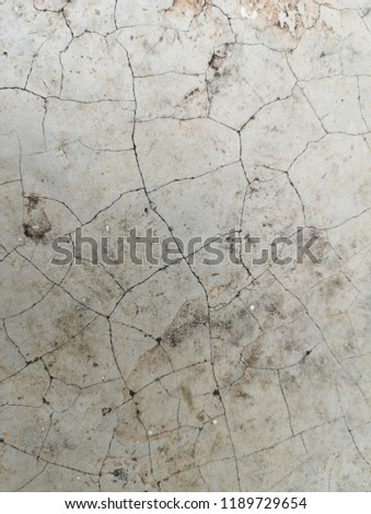 Cement pattern cracked abstract background. #1189729654