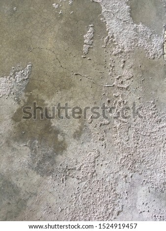 Cement surface Rough surface jagged