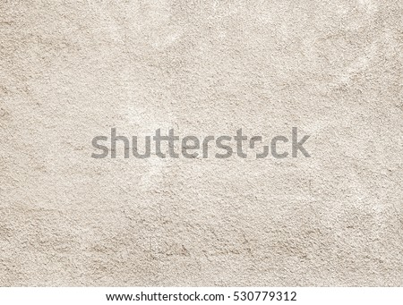 Cement textured. stone concrete rock plastered stucco wall pastel background painted flat fade white grey solid floor brown top beige brushed rough home dirty empty print sand brick sepia grunge crack
