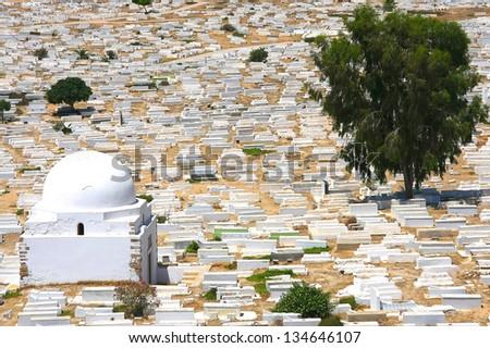 Cemetery in Monastir, Tunisia