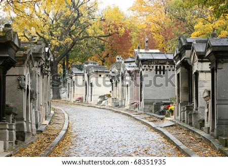 cemetery in paris