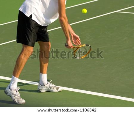Center Court - Tennis Match