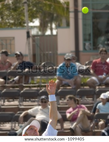 Center Court - Tennis Match Player\'s Name is D. Tursunov