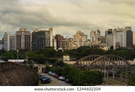 Center of Belo Horizonte MG / Belo Horizonte downtown  #1244602204
