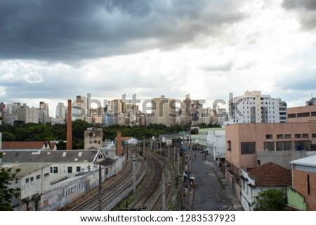 Center of Belo Horizonte MG / Belo Horizonte downtown -  Belo Horizonte, Minas Gerais, Brazil 01/11/2019 #1283537923