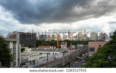 Center of Belo Horizonte MG / Belo Horizonte downtown -  Belo Horizonte, Minas Gerais, Brazil 01/11/2019 #1283537935