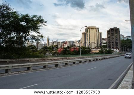 Center of Belo Horizonte MG / Belo Horizonte downtown -  Belo Horizonte, Minas Gerais, Brazil 01/11/2019 #1283537938