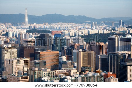 Center of Seoul (Financial district) #790908064