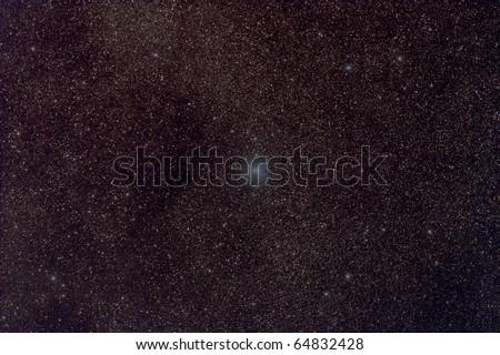 Center of the Gamma Cygni Nebula Complex
