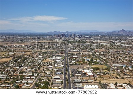 Central Avenue to Downtown Phoenix