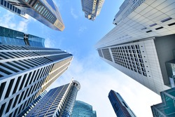 Central Business District in Singapore. Banking in Singapore is a service industry that has grown significantly in recent years. Singapore is home to over 200 banks.
