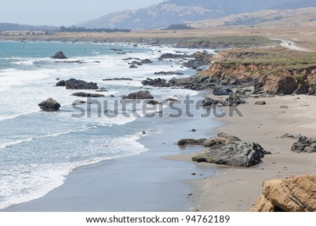 Central Coast is an area of California, United States, roughly spanning the area between the Monterey Bay and Point Conception.