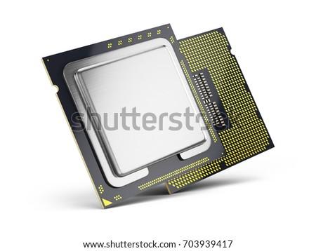 central computer processors cpu ...
