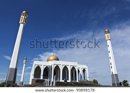 Central mosque of Songkhla province, Thailand