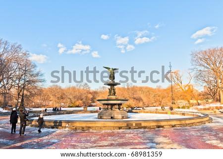 Central Park after a major snow storm (Manhattan)