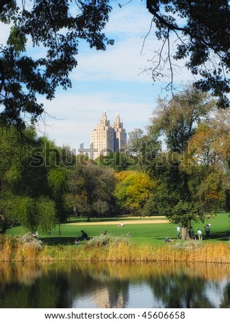Central Park in the fall - New York, USA