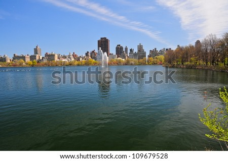 Central Park, New-York, USA - stock photo