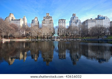 central park new york view