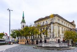 Central Square of Bratislava, Slovakia
