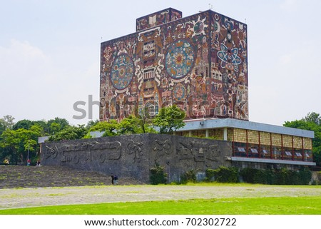 Shutterstock Central University City Campus of the Universidad Nacional Autónoma de México (UNAM) - UNESCO World Heritage Site