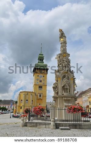 Centre of Retz in Austria