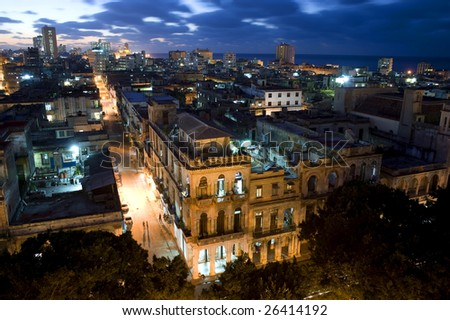 Centro Havana at Night