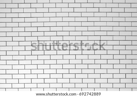 ceramic brick tile wall #692742889