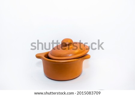 ceramic brown clay objets crafts Photo stock ©