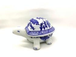 Ceramic decoration isolated on white background