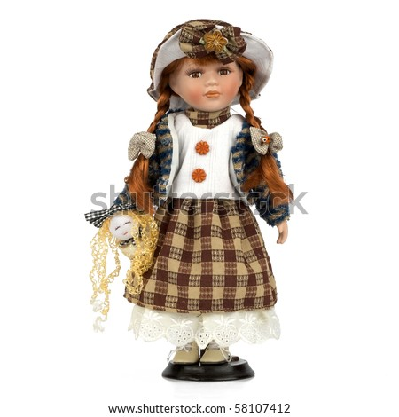 Ceramic old dolly