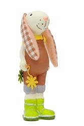 ceramic rabbit toy on Easter