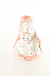 Ceramic Statue of Virgin Our Lady of Fatima
